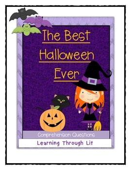 THE BEST HALLOWEEN EVER Barbara Robinson - Comprehension &