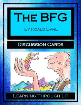 Roald Dahl THE BFG - Discussion Cards