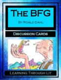 THE BFG by Roald Dahl - Discussion Cards PRINTABLE & SHAREABLE