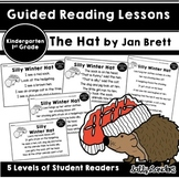 THE BIG FIVE~Guided Reading Lessons with THE HAT by Jan Brett ~Kindergarten, 1st