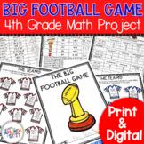 Football Math Activity | 4th Grade
