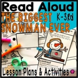 The Biggest Snowman Ever Read Aloud Book Activities