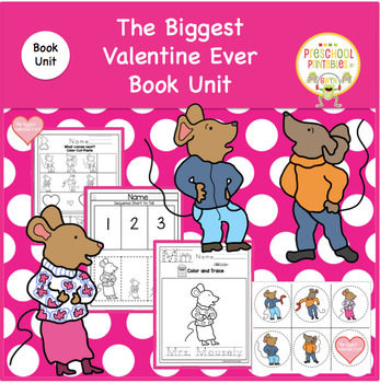 THE BIGGEST VALENTINE EVER  BOOK UNIT