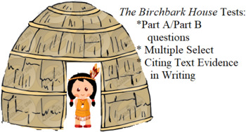 THE BIRCHBARK HOUSE BUNDLE 5TH GRADE LEAP/PARCC TESTS
