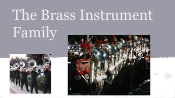 THE BRASS FAMILY Powerpoint/ Prezi Presentation w/ links a