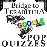 THE BRIDGE TO TERABITHIA 12 Pop Quizzes (Created for Digital)