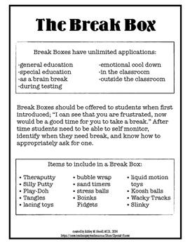 THE Break Box