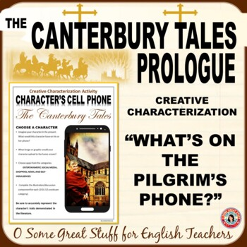 THE CANTERBURY TALES Characterization Activity-Pilgrim Cell Phones