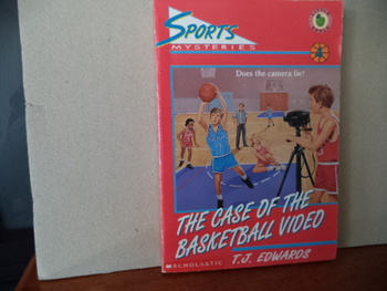 The Case of the Basketball Video ISBN 0-590-48455-9