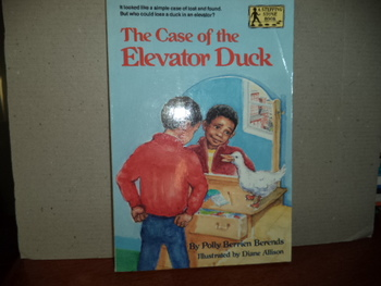 The Case of the Elevator Duck  ISBN 0-394-82646-9