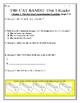 THE CAT BANDIT Skills Strand Unit 1 Reader Activity/Assessment CCSS Reading Unit
