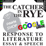 THE CATCHER IN THE RYE Essay Prompts and Speech w Rubrics