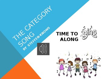 THE CATEGORY LESSON (with Category Song)
