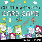 THE CBT CARD GAME! A Fun Cognitive Behavioral Therapy School Counseling Tool