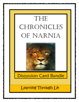 THE CHRONICLES OF NARNIA Discussion Card Bundle