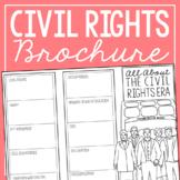 THE CIVIL RIGHTS ERA Research Brochure Template, American