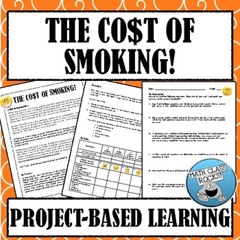 THE CO$T of SMOKING PROJECT!