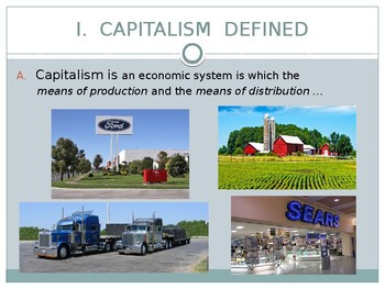 THE COLD WAR: A MINI UNIT -  Capitalism, Socialism, and Communism Defined