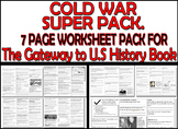 THE COLD WAR SEVEN PAGE WORKSHEET PACK - FOR The Gateway t