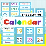 THE COLORFUL CALENDAR PACK