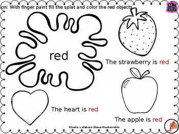 THE COLORS WORKSHEETS