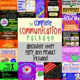 ORAL CoMmUnIcAtiOn, WRITTEN & LANGUAGE Arts Skills Complete Curricula Bundle!