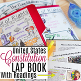 THE CONSTITUTION  LAP BOOK and READINGS