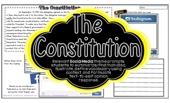 THE CONSTITUTION American Revolution