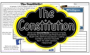 THE CONSTITUTION American Revolution