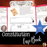 THE CONSTITUTION  LAP BOOK and READINGS for ELL or SPED