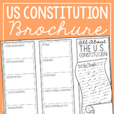 THE CONSTITUTION Research Brochure Template, American Hist