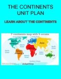 THE CONTINENTS UNIT PLAN (UbD)