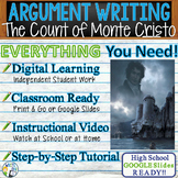 The Count of Monte Cristo  Citing Text Evidence Argument Essay | Print & Digital