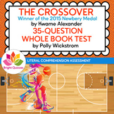 THE CROSSOVER |  PRINTABLE WHOLE BOOK TEST | 35 MULTIPLE C