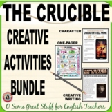 THE CRUCIBLE Creative Activities Bundle