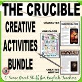 THE CRUCIBLE Creative Activities Bundle
