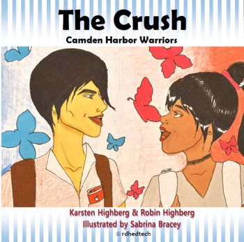 THE CRUSH book. Anime style for Struggling Readers ESL SPED Homeschool