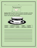 THE CUP OF VIRTUES- A CHARACTER EDUCATION WRITING ACTIVITY