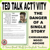 THE DANGER OF A SINGLE STORY Ted Talk Discussion Questions