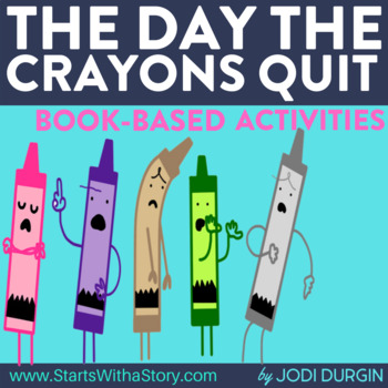 THE DAY THE CRAYONS QUIT read aloud lessons