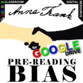 THE DIARY OF ANNE FRANK PreReading Bias Activity (Created