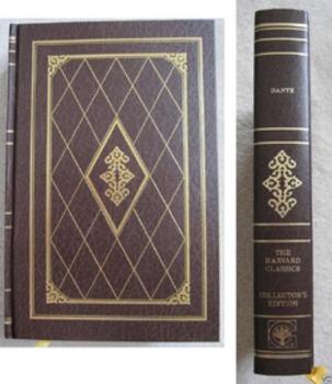 THE DIVINE COMEDY DANTE COLLECTOR'S EDITION harvard classics BOOK INCL SHIPPING