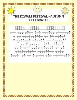 THE DIWALI FESTIVAL CRYPTOGRAM
