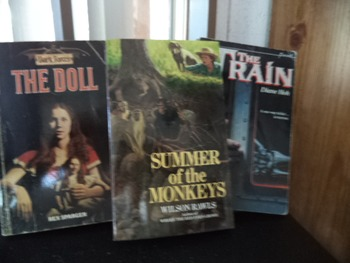 THE DOLL,SUMM.OF THE MONKEYS,THE TRAIN   (set of 3)