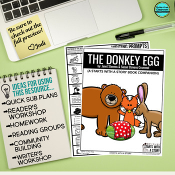 The Donkey Egg Activities and Read Aloud Lessons
