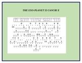 THE EXO- PLANET CANCRI E CRYPTOGRAM