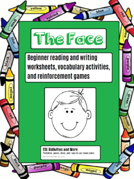 THE FACE Vocabulary, listening and craft!