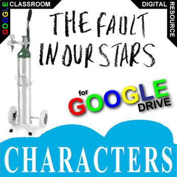 THE FAULT IN OUR STARS Characters Organizer (Created for Digital)