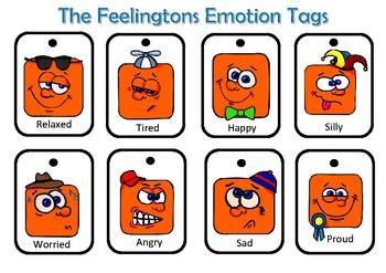 THE FEELINGTONS EMOTION TAGS