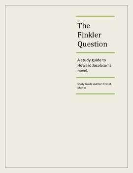 THE FINKLER QUESTION Study Guide